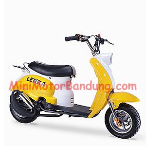 Mini motor,motor mini,motor kecil,motor anak,mocil,pocket bike,distributor mini motor,distributor motor mini,motor mini bandung,mini motor bandung,importir motor mini bandung,len scooter kuning